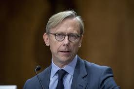 Brian Hook, the US pointman on Iran.