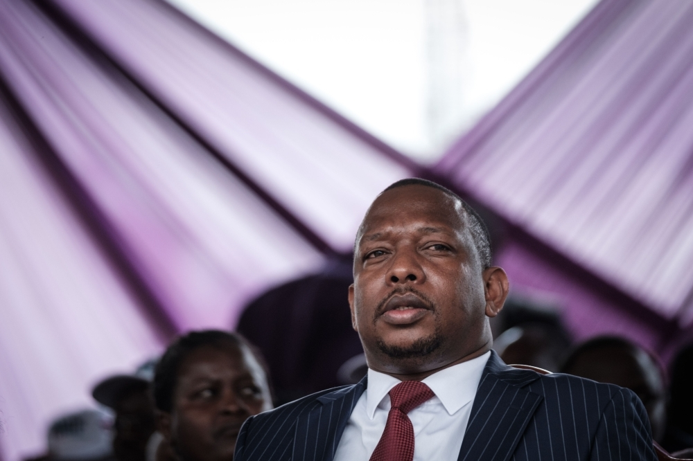 Nairobi Governor Mike Sonko attends the Labor Day Parade organized by the Central Organization of Trade Unions Kenya (COTU-K) at Uhuru Park in Nairobi in this  May 01, 2018 file photo. — AFP