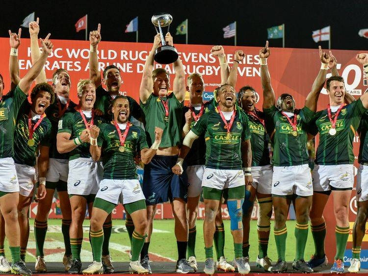 South African men became the first team to win the Dubai Rugby Sevens crown for the seventh time on Saturday. — Courtesy photo