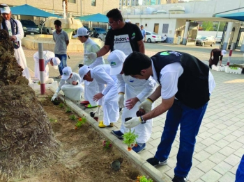 Voluntary cleaning work was carried out in Makkah, Jeddah, Madinah, Riyadh, Tabuk, Baha, the Northern Border Province, the Eastern Province and many other areas. — Courtesy photo