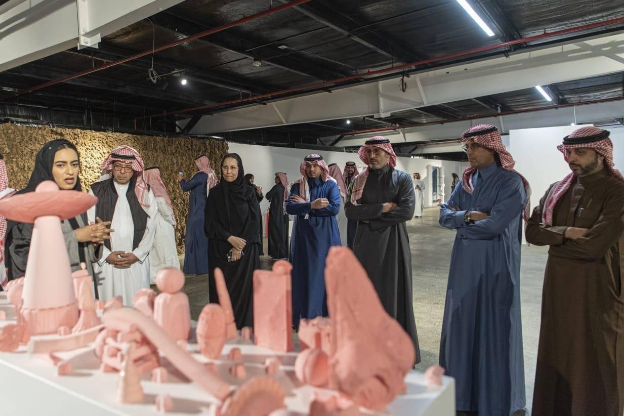Works of 27 Arab artists on display at Diriyah expo
