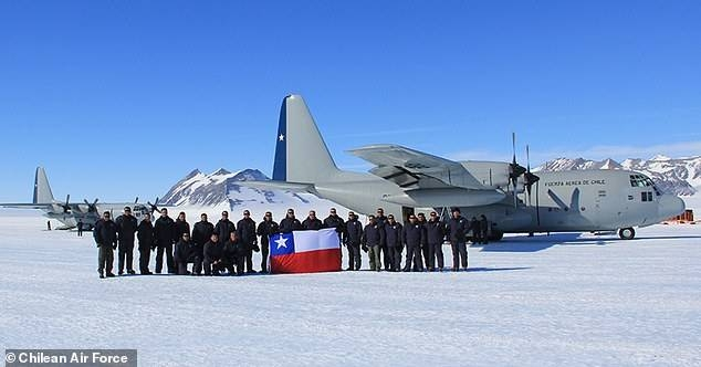This file picture show a Chile Air Force Lockheed C-130 Hercules. — Courtesy photo