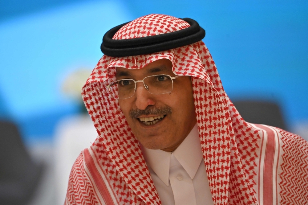 Saudi Minister of Finance Mohammed al-Jadaan. — AFP