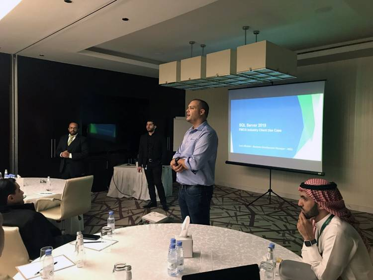 Microsoft Arabia launches the new version SQL server 2019, during