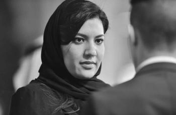 Saudi Ambassador Princess Reema Bint Bandar visited the Naval Air Station Pensacola in Florida on Thursday.