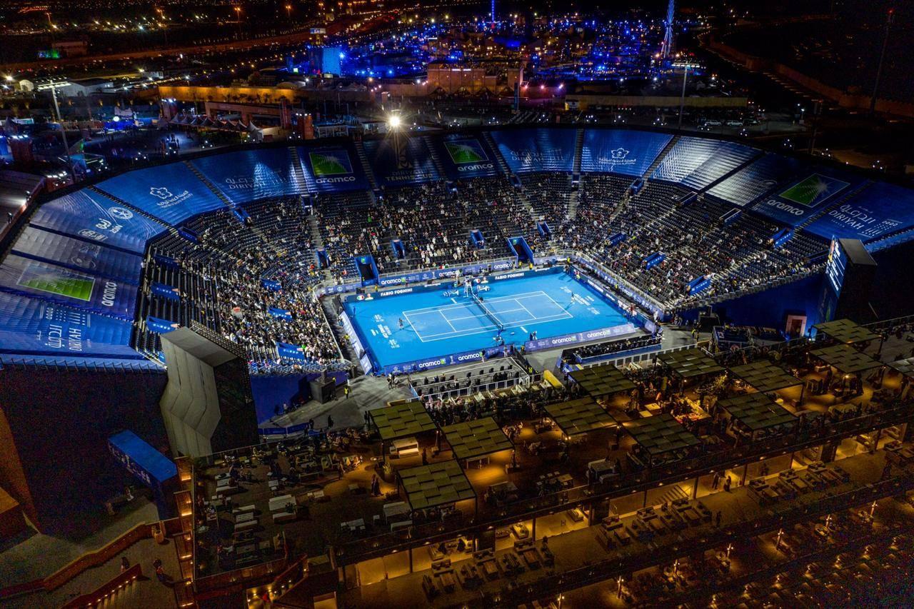 Diriyah Tennis Arena.