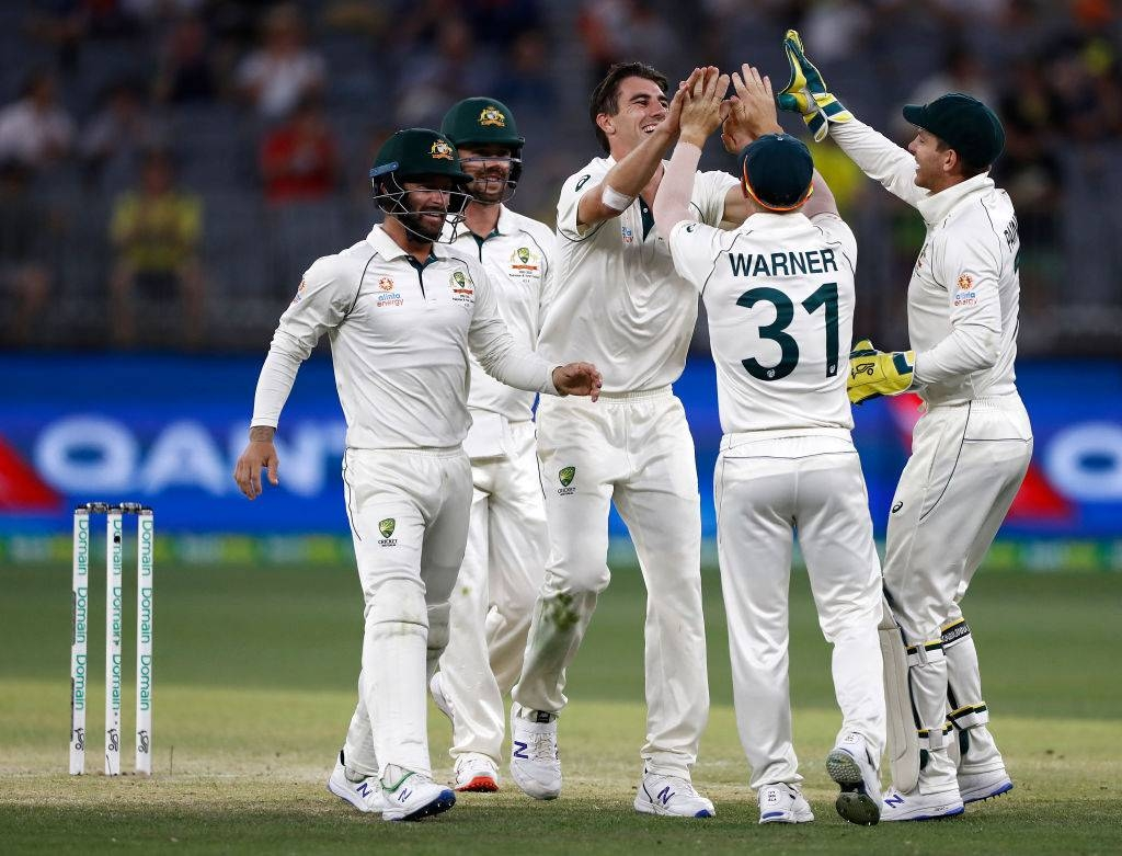 Australian skipper Tim Paine believes Australia is climbing back towards the top of Test cricket after a third successive powerhouse victory at Perth Stadium on Sunday.