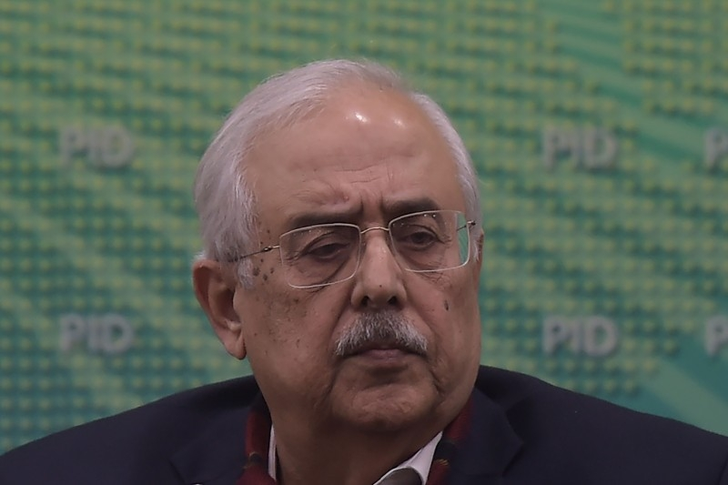 Pakistan's Attorney-General Anwar Mansoor Khan gives a press conference following a special court verdict against former military ruler Pervez Musharraf, in Islamabad on Tuesday. -AFP   A Pakistan court December 17 sentenced former military ruler Pervez Musharraf in absentia to death for treason, state media reported, an unprecedented move in a country where the armed forces are often considered immune from prosecution. / AFP / AAMIR QURESHI