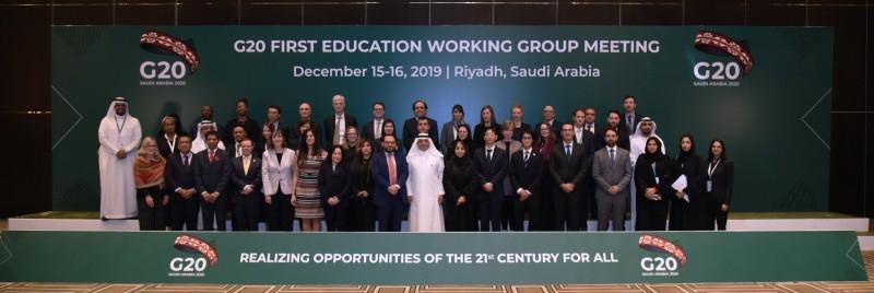 G20 education working group meets in Riyadh