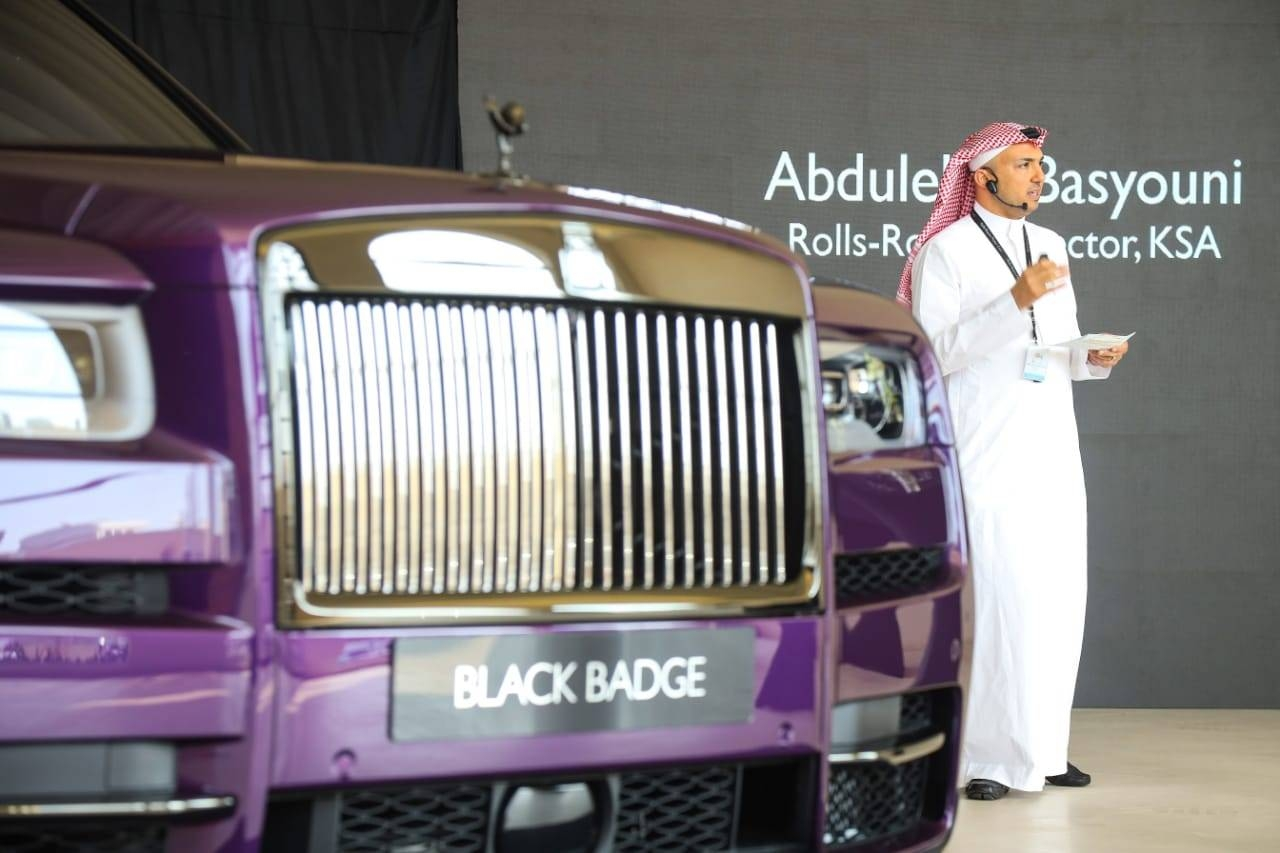 Rolls-Royce Black Badge Cullinan makes KSA debut