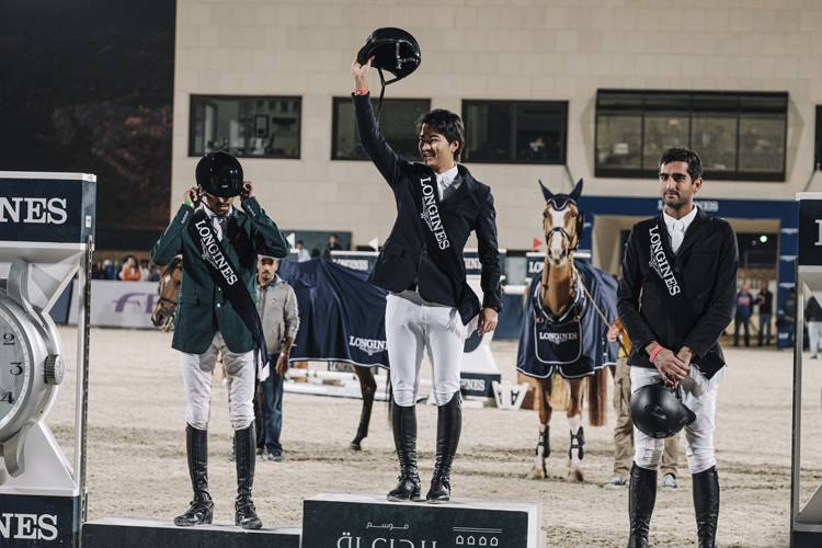 Japanese Equestrian Mike Kawai crowned champion in what was his best ever result.