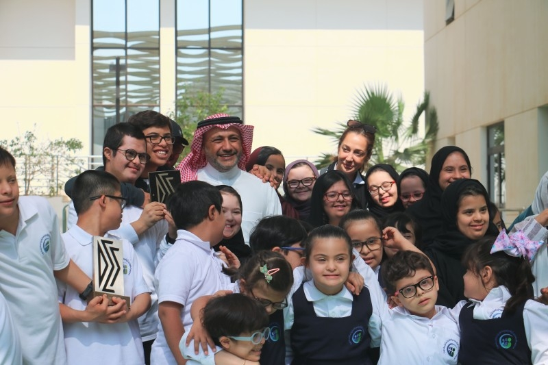 Olympian Ramzy, wife visit school for children with Down Syndrome