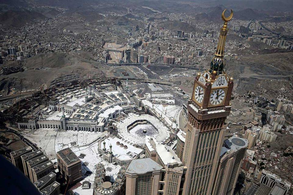 A total of 1,782,554 pilgrims have arrived in the Kingdom of whom 1,373,963 have left after competing their Umrah rituals and praying at the Prophet's Mosque in Madinah. — Courtesy photo