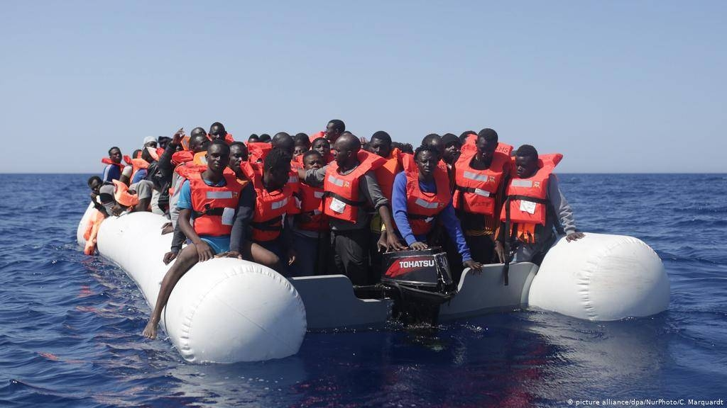 Migrants are being rescued in this file picture. — Courtesy photo