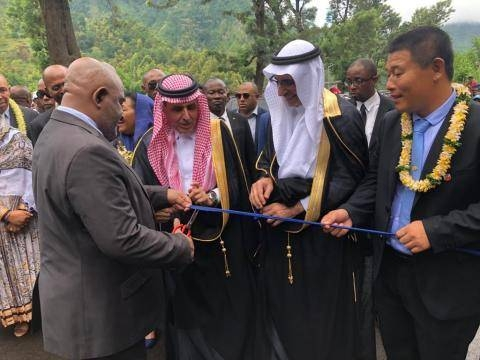 SFD-funded new road network opened in Comoros