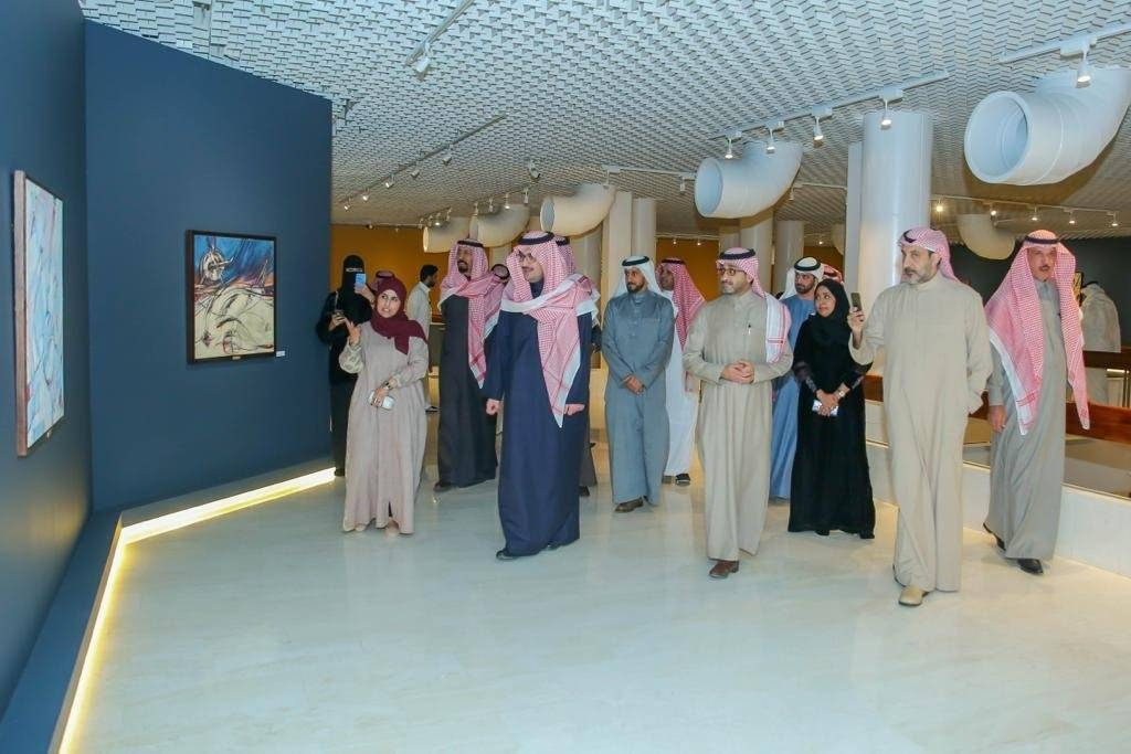 The Misk Art Institute, an affiliate of Prince Muhammad Bin Salman Foundation (the Misk Foundation), has reopened the Prince Faisal Bin Fahd Hall for Fine Arts.