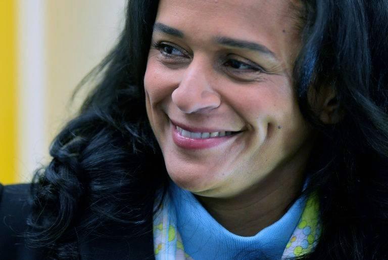 Isabel dos Santos, former president Jose Eduardo dos Santos's oldest child is under investigation. — AFP