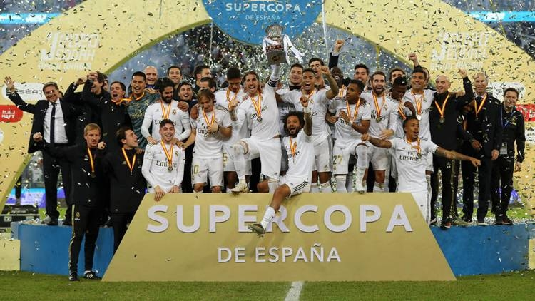 Real Madrid beat city rivals Atletico Madrid in a penalty shootout in Saudi Arabia to win their 11th Spanish Super Cup.