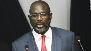 George Weah, president of Liberia. -Courtesy photo