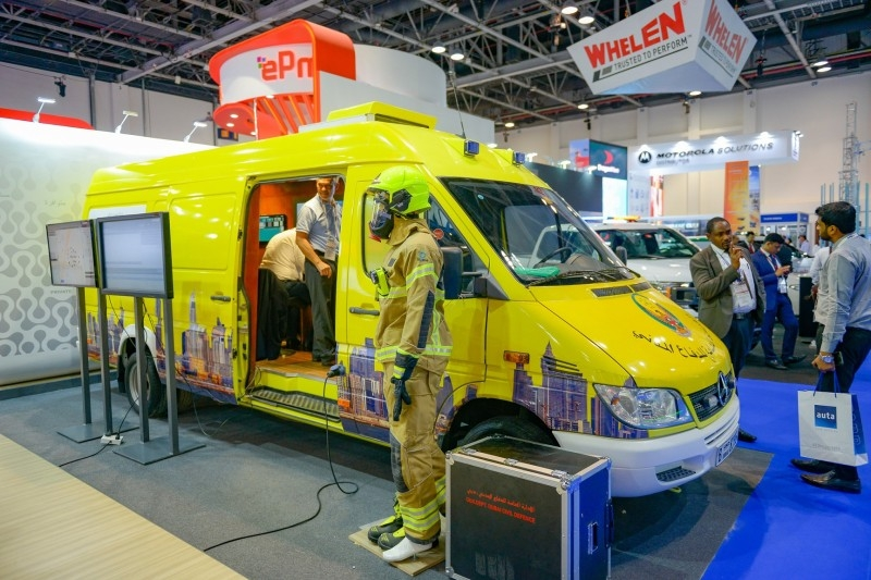 World security, safety and fire protection experts converge today in Dubai for Intersec