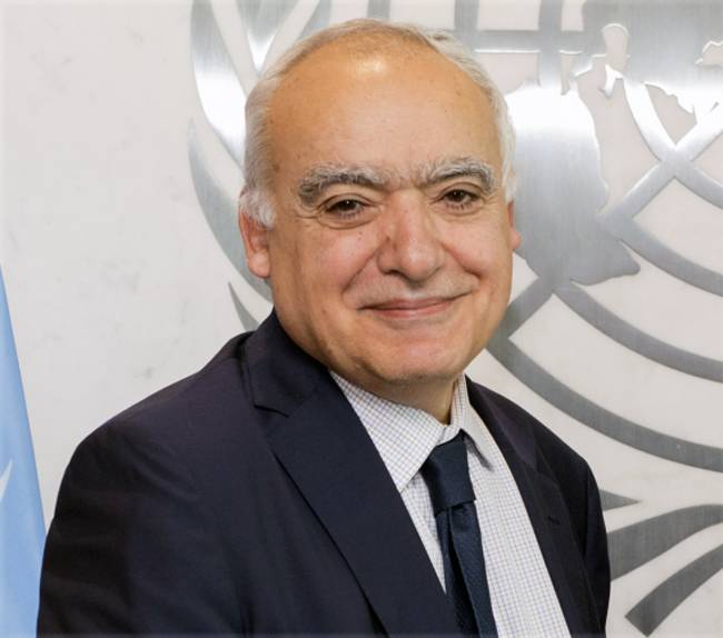 UN Libya envoy Ghassan Salame said that all foreign interference in Libya needs to stop.