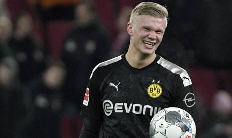 Norwegian rising star Erling Braut Haaland came off the bench to claim a hat-trick inside 20 minutes on his Borussia Dortmund debut.