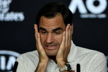Switzerland's Roger Federer said there was confusion among players over the Australian Open's air pollution policy. — AFP
