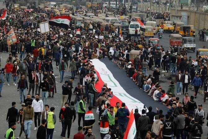 Rallies demanding an overhaul of the ruling system have rocked Shiite-majority parts of Iraq since October, but had thinned out in recent weeks amid rising Iran-US tensions. — Courtesy photo