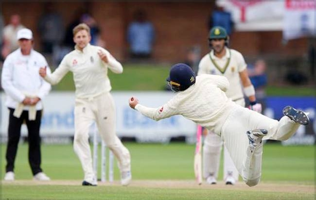England captain Joe Root produced a Test-best bowling performance to send South Africa hurtling towards a humiliating defeat on the fourth day of the third Test at St George's Park on Sunday.