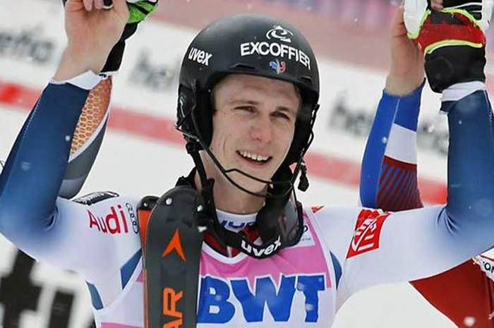 France's Clement Noel edged Norway's Henrik Kristoffersen on Sunday to claim a second successive victory in the men's World Cup slalom at Wengen. — AFP