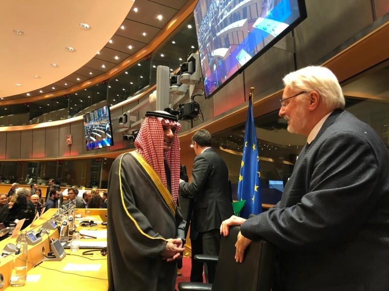 Information on KSA based on rumors, Al-Jubeir tells EU Parliament