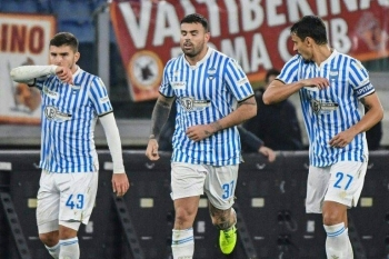Andrea Petagna ignited a come-from-behind victory for struggling SPAL to hand his former club Atalanta a shock 2-1 defeat in Serie A on Monday. — AFP