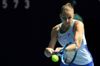 The 27-year-old Czech defeated France's Kristina Mladenovic 6-1, 7-5 and plays Germany's Laura Siegemund or American wildcard CoCo Vandeweghe next in Melbourne. — AFP