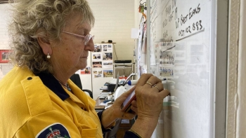 Once a professional performer who sang backing vocals for British rock star Joe Cocker, Maggie McKinney has spent the last 30 years helping battle the wildfires which are as much an Australian summer staple as cricket and backyard barbecues. — AFP