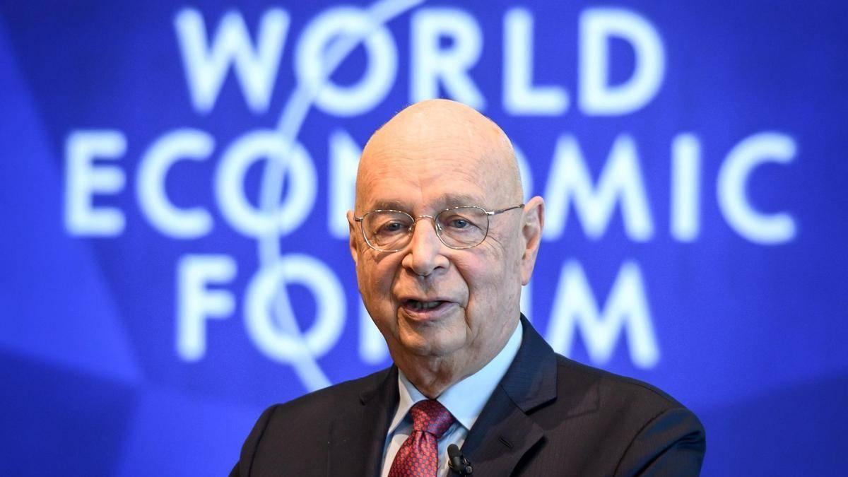Klaus Schwab, executive chairman of the World Economic Forum.
