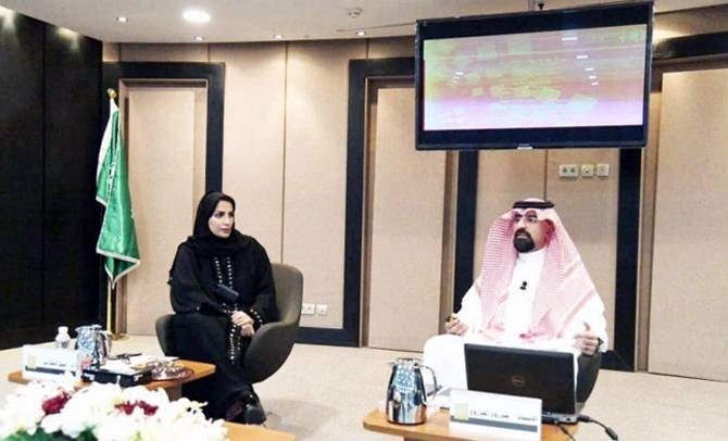Mazrou Al-Mazrou, spokesman of The Quality of Life Vision Realization Program, announced the holding of an annual quality of life conferenc eat an event at the King Abdulaziz Public Library here on Monday. — SPA