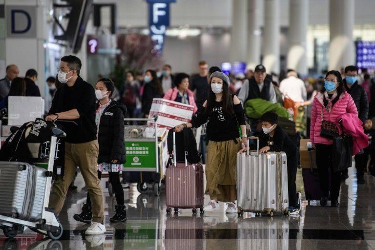 Hong Kong is on high alert for the Wuhan virus. — AFP