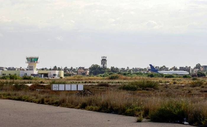 Tripoli's airport has been the target of several air raids and rocket strikes since an offensive was launched on the Libyan capital in April. — AFP
