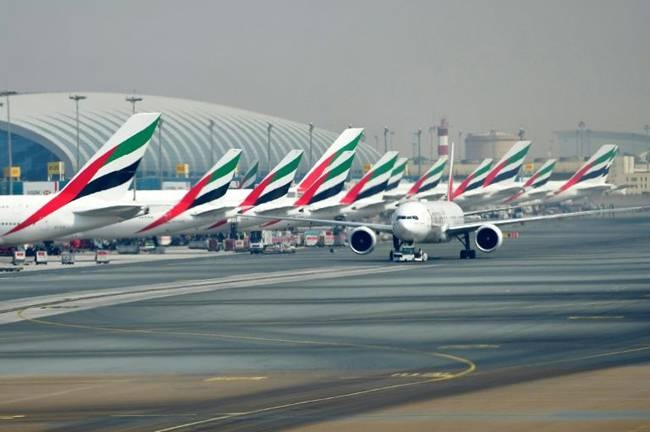 Dubai International Airport is one of the world's biggest aviation hubs. — AFP