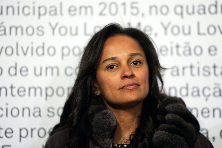 Angola's ex first daughter Isabel dos Santos charged with fraud. — AFP