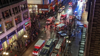 A shootout near a tourist area in downtown Seattle following a dispute among a group of people on Wednesday left one person dead and several injured.