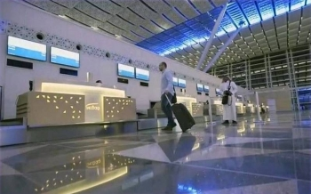 The new terminal at the King Abdulaziz International Airport in Jeddah. Saudi Arabia is to screen travelers arriving from China after the outbreak of a new coronavirus.