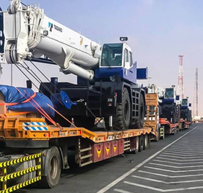 The Saudi cranes grant to the port contributed significantly to the higher volumes, both in relief aid and commercial imports. at the port of Aden.