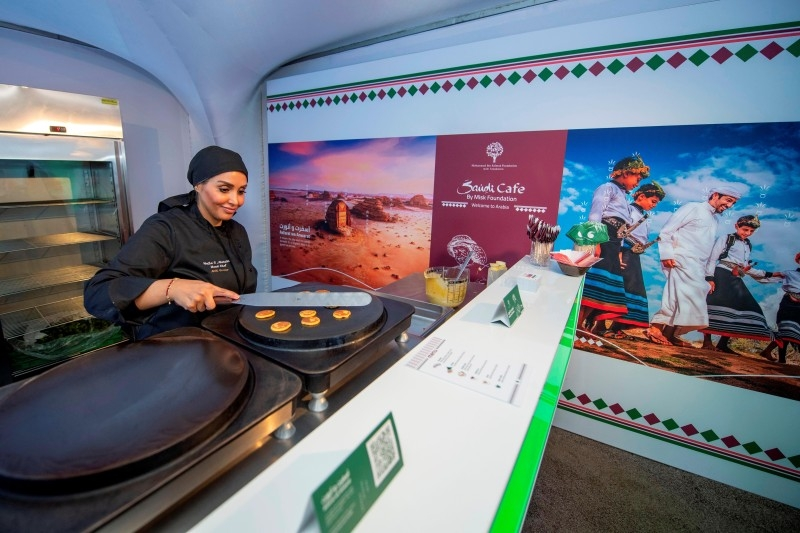Young Saudis become instruments of change with their innovative projects in Davos