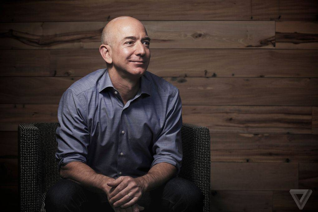 Amazon founder and Washington Post owner Jeff Bezos seen in this file photo.