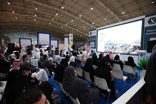 A well-attended interactive presentation in Index Saudi 2019.