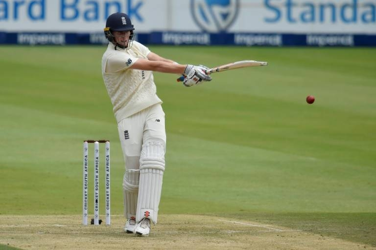 Crawley played positively to score his first Test fifty