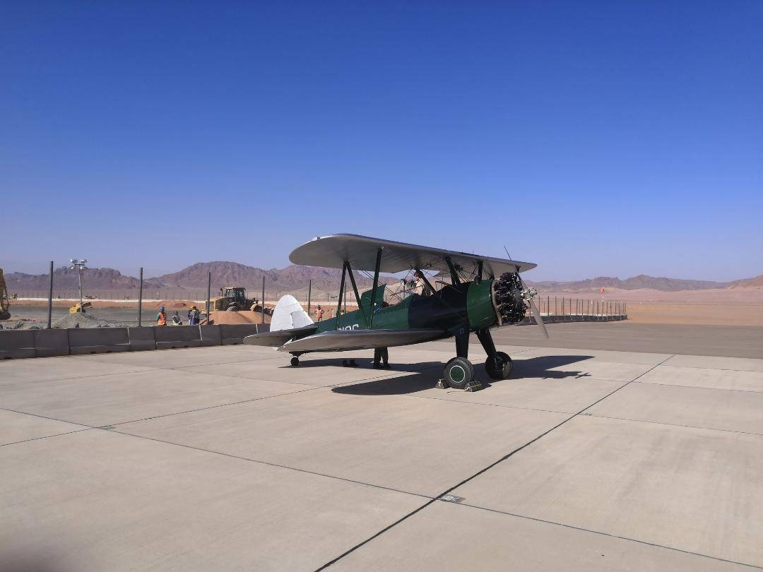The T6 Harvard is an old WW2 training aircraft for fighter pilots and offers a warbird experience.