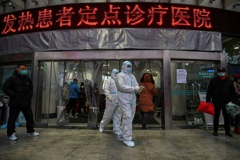 The Chinese military has deployed hundreds of medics to Wuhan, the epicenter of the viral outbreak. — AFP