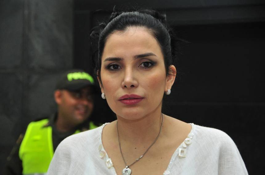 Colombian former Senator Aida Merlano